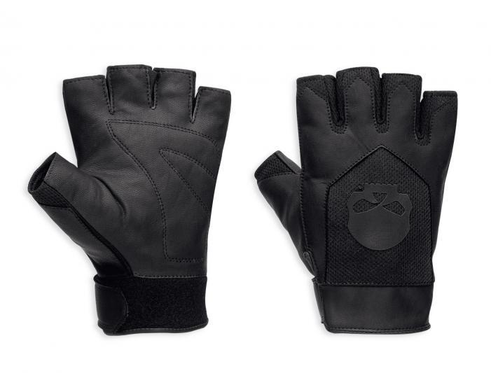 97367 17vm harley davidson handschuhe layton fingerlos im. Black Bedroom Furniture Sets. Home Design Ideas
