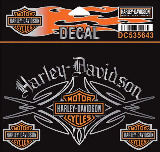 harley davidson aufkleber und aufn her im thunderbike shop. Black Bedroom Furniture Sets. Home Design Ideas