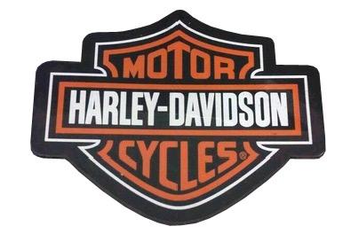 harley davidson leder aufn her bar shield 10 x 8 cm. Black Bedroom Furniture Sets. Home Design Ideas