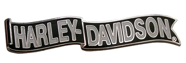 Harley Pin Waving Banner