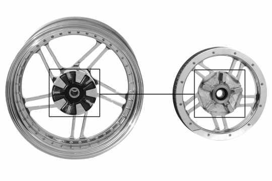 Thunderbike Pulley Speedstar polished  - 04-70-020V