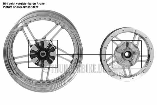 Thunderbike Pulley Vegas poliert  - 04-70-080V