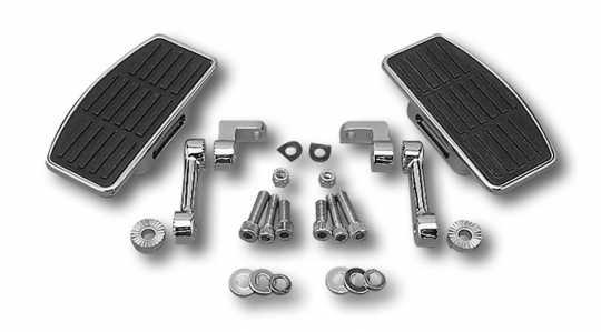 Custom Chrome Einstellbare Fahrer Mini-Trittbretter  - 09-910