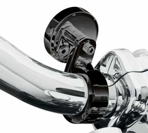 "Harley-Davidson Handlebar Mount Clamp 1.25"" black  - 10800058"