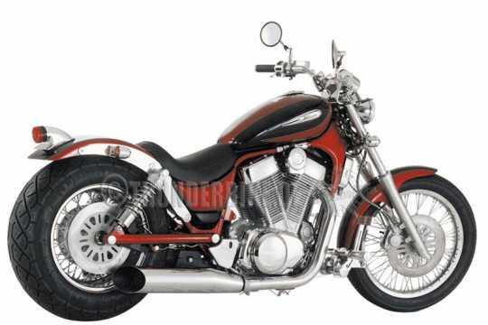 Thunderbike Solo Seat vinyl black  - 11-00-021