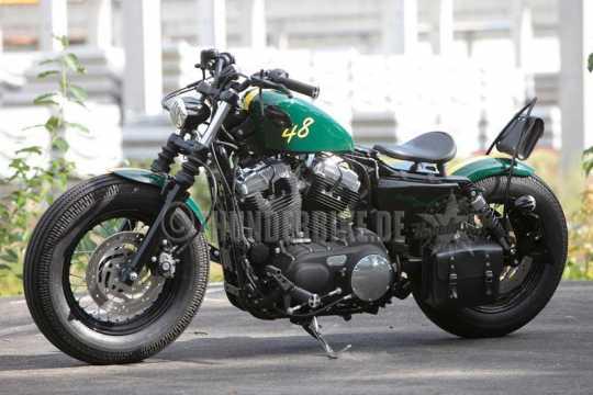 Thunderbike Schwingsattel Fellow S (33x28cm) | ohne Logo - 11-70-040