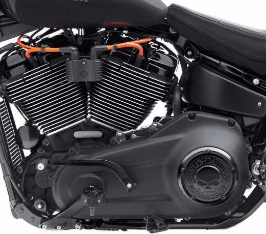 Harley-Davidson Schrauben Kit Motor komplett schwarz  - 12600256