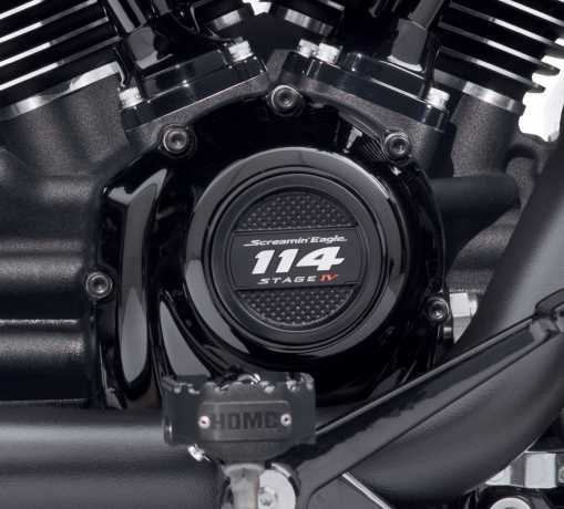 Harley-Davidson Cam and Tappet Cover Hardware Kit black  - 12600258