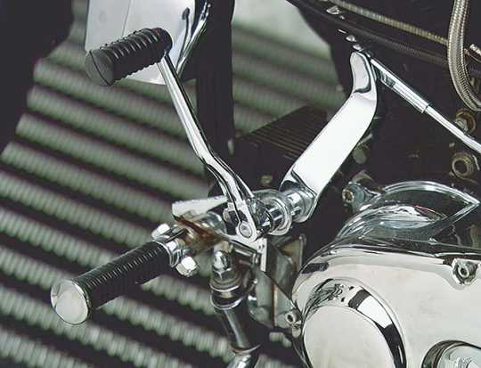 Custom Chrome Forward Control Kit, chrome  - 13-0348