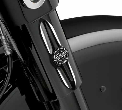 Harley-Davidson Burst Medallions für Teleskopgabel-Abdeckung  - 14100434