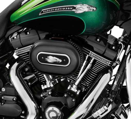 Harley-Davidson Rocker Box Cover Gloss Black  - 17707-11