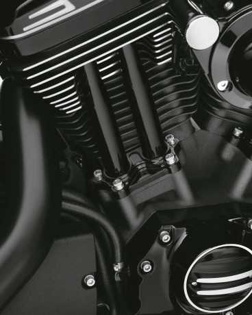 Harley-Davidson Tappet Covers - Gloss Black  - 17900084