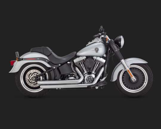 Vance & Hines Vance & Hines Big Shots Staggered chrom  - 18001410