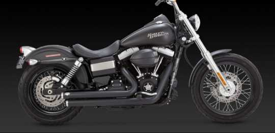 Vance & Hines Vance & Hines Big Shots Staggered black  - 18001413