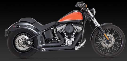 Vance & Hines Vance & Hines Shortshots Staggered, black  - 18001415