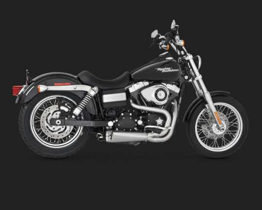 Vance & Hines Vance & Hines Competition 2-into-1, brushed  - 18001502