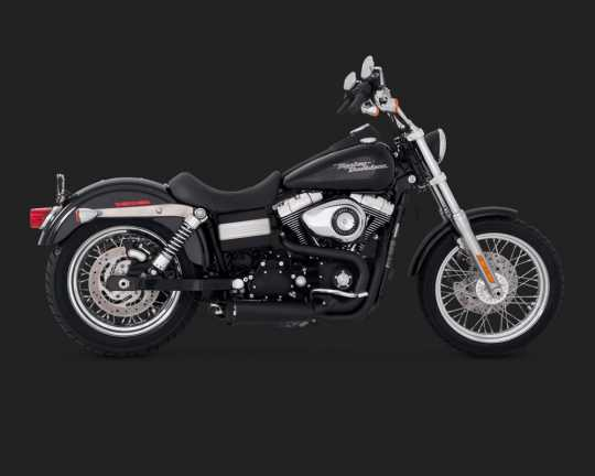Vance & Hines Vance & Hines Competition 2-into-1, schwarz  - 18001503