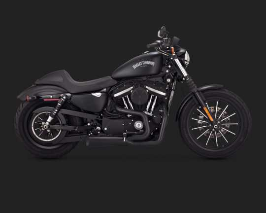 Vance & Hines Vance & Hines Competition 2-into-1, schwarz  - 18001660