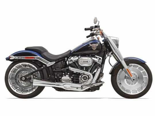 Bassani Bassani  Exhaust System Road Rage III 2-Into-1 chrome  - 18002240