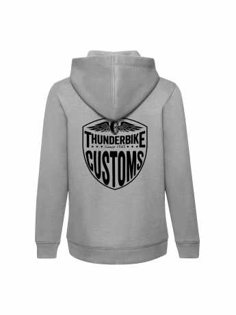 Thunderbike Clothing Thunderbike Kids Hoodie New Custom grey  - 19-00-1013V