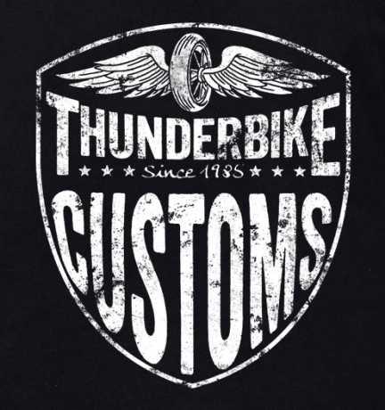 Thunderbike Clothing Thunderbike Kids T-Shirt StayLow Schwarz  - 19-01-1141V