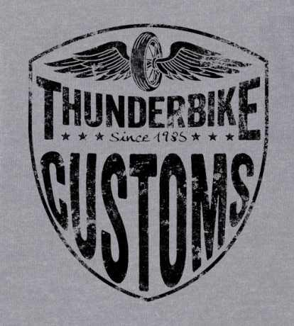 Thunderbike Clothing Thunderbike Kids T-Shirt Boneracer Grau  - 19-01-1153V