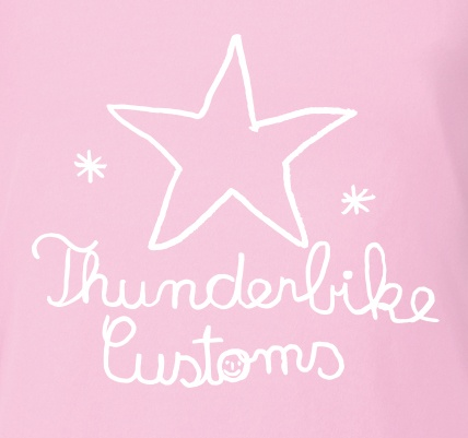 Thunderbike Clothing Thunderbike Kids T-Shirt Thunderbike Pink  - 19-01-11910V