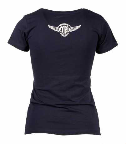 Thunderbike Clothing Thunderbike Kinder T-Shirt Girl Skull Rider blau 152 - 19-01-1359A/152