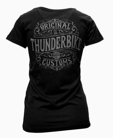 Thunderbike Clothing Thunderbike Damen T-Shirt Original schwarz  - 19-11-1221V