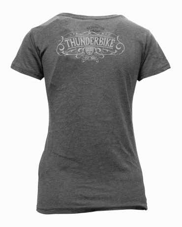 Thunderbike Clothing Thunderbike Damen T-Shirt Original grau  - 19-11-1223V