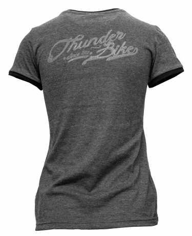 Thunderbike Clothing Thunderbike women´s T-Shirt Classic Vintage grey  - 19-11-1233V