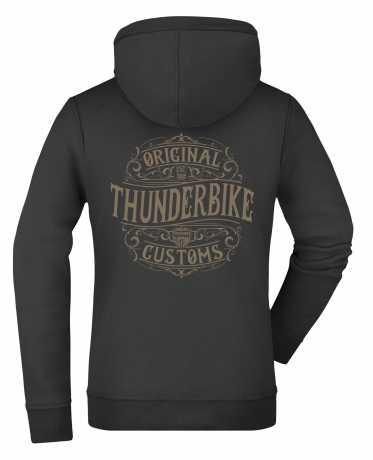 Thunderbike Clothing Thunderbike women´s Zip Hoodie Original black  - 19-20-1221V