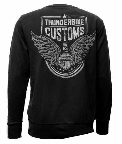 Thunderbike Clothing Thunderbike Sweatshirt Customs grau  - 19-30-1213V