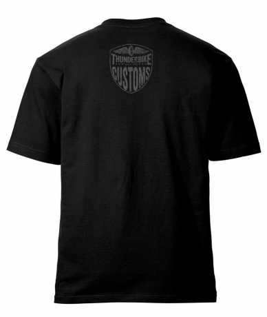 Thunderbike Clothing Thunderbike T-Shirt New Custom, schwarz  - 19-31-1011V