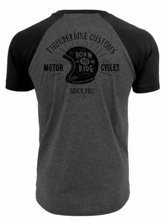 Thunderbike Clothing Thunderbike T-Shirt Flying Pan, grau S - 19-31-1023/000S