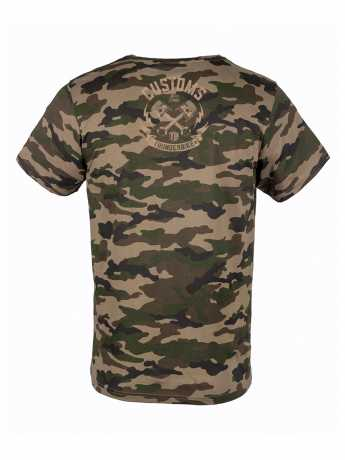 Thunderbike Clothing Thunderbike T-Shirt Speed Skull Olive  - 19-31-1116V