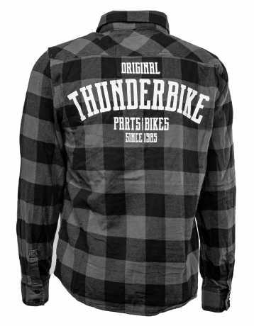 Thunderbike Clothing Thunderbike Plaid Shirt Original grey/black  - 19-32-1271V
