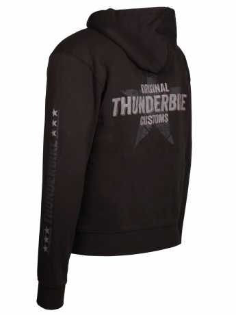 Thunderbike Clothing Thunderbike Zip Hoodie Vintage Custom, black  - 19-40-1001V
