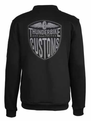 Thunderbike Clothing Thunderbike Zip Sweatshirt New Custom, black  - 19-40-1011V