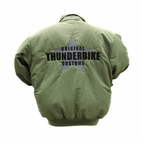 Thunderbike Clothing Thunderbike Bomber Jacket, olive  - 19-60-030V