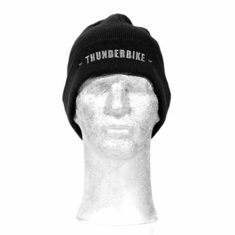 Thunderbike Clothing Thunderbike Mütze, schwarz  - 19-80-070