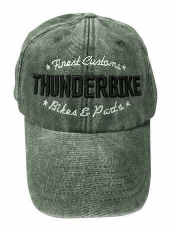 Thunderbike Clothing Thunderbike Baseball Cap Customs Olive  - 19-80-1194