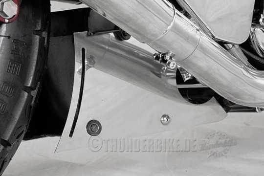 Thunderbike Batterieblende VA poliert  - 22-00-020V
