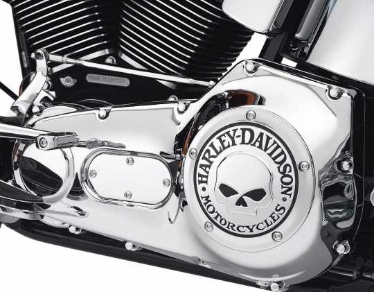 Harley-Davidson Derby Cover Willie G Skull  - 25441-04A