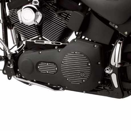 Harley-Davidson Timer Deckel Black Fin  - 32677-01