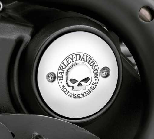 Harley-Davidson Willie G Skull Right Side Medallion  - 25600044