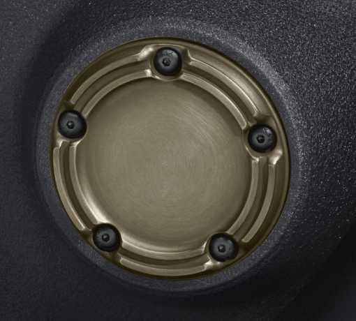Harley-Davidson Brass Timer Cover  - 25600057