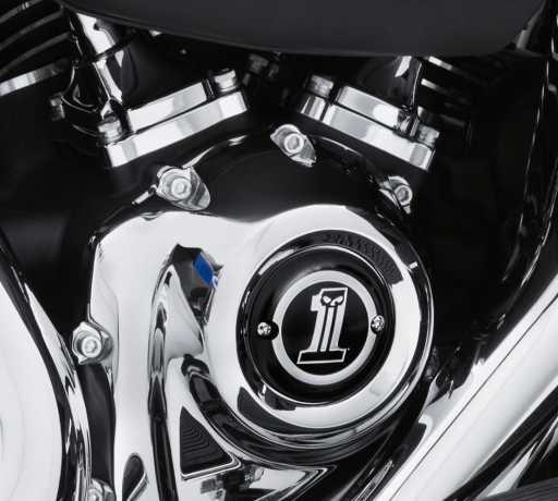 Harley-Davidson Timer Cover Dark Custom  - 25600064