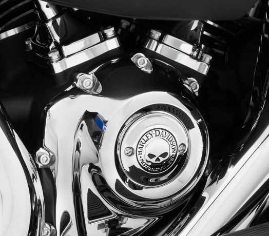 Harley-Davidson Timer Deckel Willie G. Skull  - 25600066