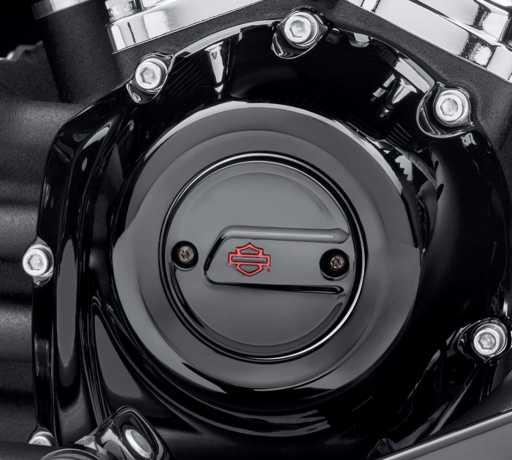 Harley-Davidson Kahuna Zündungsdeckel, schwarz  - 25600109